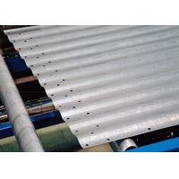 China Full Automated Galvanized Steel Silo Roll Forming Machine With 4-8m/Min Speed on sale