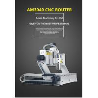 aman 3040 4-axis 800W cnc wood carving engraving milling cutting machine Manufactures