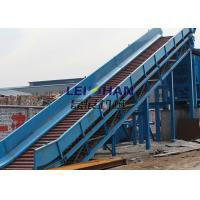 China High Efficiency Chain Conveyor Systems , Paper Production Chain Link Conveyor Belt on sale