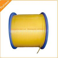 Quality 6mm Polyurethane orange smooth Round Belt for Ceramic glazing line poly cord 5mm for sale