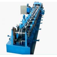 PLC Control Roll Forming Equipment , Automatic Change Size C&Z Purlin Forming Machine Manufactures