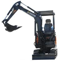 2.0 Ton Small Hydraulic Crawler Excavator Digger With High Digging Depth Manufactures