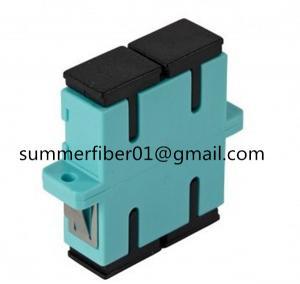 Aqua OM3 SC Duplex Fiber Optic Adapter Manufactures