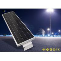 20W 5-6m Height 4 Rainy Days Last Solar Panel Street Lights Aluminum Alloy Material Manufactures