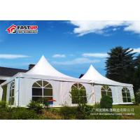 Second Hand White Festival Party Tent 8M X 8M Size TUV Certificated Manufactures