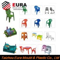 EURA Taizhou Huangyan high quality plastic chair injection mould making factory Manufactures
