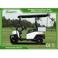 EEC Approved Electric Golf Carts / White Plastic 5KW AC Golf Buggy Car Manufactures