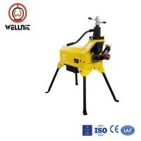 450 W 24 Rpm Pipe Grooving Tool Hydraulic All In One Tube Grooving Machine Manufactures