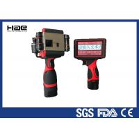 Batch Number Handheld Inkjet Coder 600 Dpi For Nylon Fabrics ROHS Approved Manufactures