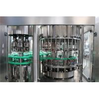 China Fully Automatic Liquid Bottle Filling Machine / Soft Drink Filling Machine on sale