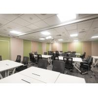 Tall  Acoustic Portable Wall Partitions Telescopic Sleeve Panel High Performance Manufactures