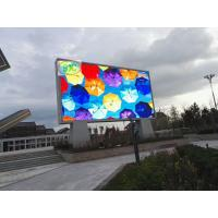 Rental LED display module full color outdoor high brightness P10 1RGB full color LED advertising display and iron cabine
