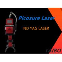 China 1064nm 532nm 1320nm 1 - 10HZ Wavelength Portable Picosure Nd Yag Laser Tattoo Removal Machine on sale