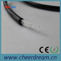 China PMMA 0.75mm 25 core end glow fiber optic cable lighting on sale