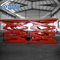 China Stable Hydraulic Scissor Lift Tables , Durable Hydraulic Scissor Lift Trolley on sale