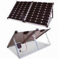 Portable Solar Power System, High-efficiency, Equipped with Controllers, Wires, Clips and Brackets Manufactures