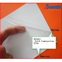 Transparent Vinyl Self Adhesive Cold Laminate Sheets with PE Coated Silicon Paper Manufactures