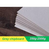 China 800gsm 1.2 mm gray chipboard Grey Board Paper Bulk Chipboard Sheets For Jewelry Box on sale