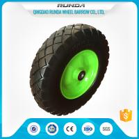 Heavy Duty Trolley Pneumatic Wheels Ubber Casing Ball Bearing 150-300kg Loading Manufactures