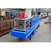 0.3-0.8mm Thickness Ridge Cap Roll Forming Machine High Working Efficiency Manufactures