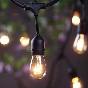 China E26 / E27 Socket LED Bulb String Lights , Christmas Hanging Outdoor String Lights on sale