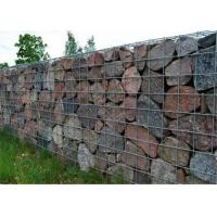 3mm Diameter Rock Baskets Wire Mesh Square Hole Cages For Stone Retaining Walls Manufactures