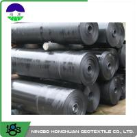2.50mm Ultra Tech Flexible HDPE Geomembrane Liner Smooth For Canal Manufactures