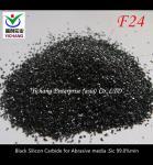 F14-F1500 Black Silicon Carbide Abrasive Blasting Media Free Sample Provided Manufactures
