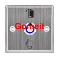 Safe Press To Exit Push Button , Recessed Mounted Weatherproof Exit Button Manufactures