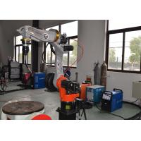 Electric Driving MIG Welding Manipulator Armlength 1400MM CNC Controlled Manufactures