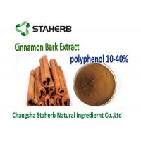 10 - 30%  Cinnamon Polyphenols Brown Yellow Powder Health Care Grade Manufactures