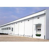 Industrial steel structure workplant building with concrete wall Manufactures
