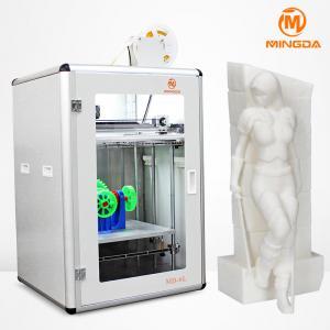 Buy cheap 300 × 400 × 500 mm industry desktop 3d printers 1.75 mm TPU filament , single nozzle from wholesalers