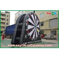 5m 6m 7m DIA PVC Inflatable Dart Board Stands For Football Soccer Shooting Manufactures