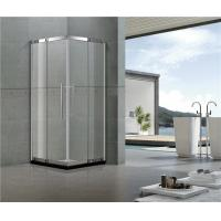 Corner Enter Stainless Steel Shower Enclosure with Outside Fixed Glass 8 / 10 MM Tempered Glass Manufactures