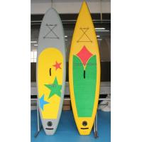 Durable PVC Tarpauline Surfboard, Inflatable SUP Board For Water Sports Manufactures
