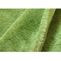 Flame Retardant Plaid Flannel Fabric For Blankets / Towel Flannel-008 Manufactures