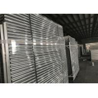 Hot dipped Galvanized Temporary Fence Panels 2.1mx2.4m customized mesh 60mm*150mm Manufactures
