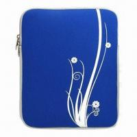 Quality Neoprene Sleeve for iPad, with Double Zip Closure for sale