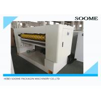 Sheet Board Corrugated Paper Cutting Machine AC Servo Motor Corrugated Box Cutter Manufactures