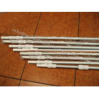 Corrugated Surface Swimming Pool Accessories Telescopic Pole 0.8mm Thick 2 X 240cm Manufactures