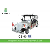 Silver Eco Friendly Electric Vintage Cars Classic 8 Seater Golf Buggy For Pick Up Manufactures
