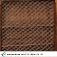 Wire Mesh Grille Inserts  Press Crimp Weave by Cold Rolled Steel Manufactures