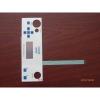 China Waterproof Touch Screen Membrane Panel Switch Keypad Overlay With 3M Adhesive on sale