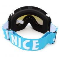Quality Custom Adult Sport Blue Polarized Snow Goggles For Mountaineering Protective for sale