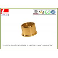 Custom high precision Brass shaft used in medical equipment , CNC lathe turning parts Manufactures