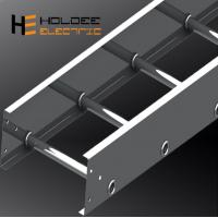 China Export Ladder Type Galvanized Steel Cable And Optical Ventilated Or Perforated Trough  Cable Tray on sale