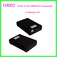 FVDI AVDI ABRITES Commander Language List Manufactures