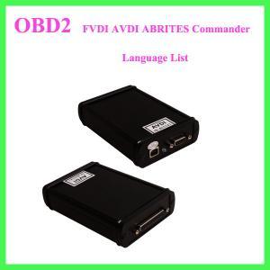 FVDI AVDI ABRITES Commander Language List Manufactures