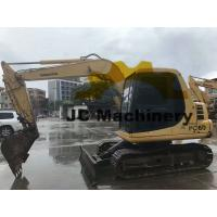 6 Ton Used Komatsu Excavator / Used Mini Diggers PC60-7 With Original Color Manufactures